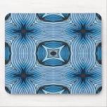 Kaleidoscope in Blue Mousepad