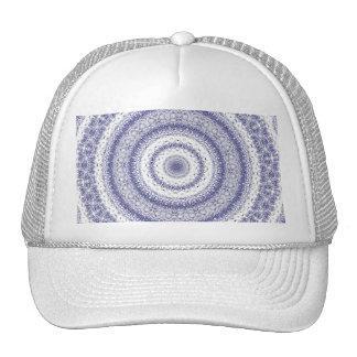 Kaleidoscope in Blue & White Trucker Hat