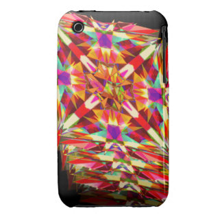 Kaleidoscope in Motion iPhone 3 Cases
