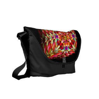 Kaleidoscope in Motion Courier Bag