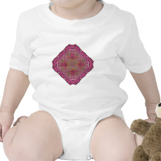 Kaleidoscope in Pink Infant Creeper