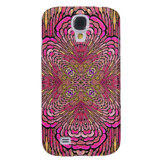 Kaleidoscope in Pink iPhone 3G/3GS Case Samsung Galaxy S4 Covers