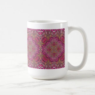 Kaleidoscope in Pink Mug
