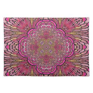 Kaleidoscope in Pink Placemat