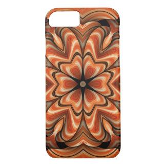 Kaleidoscope iPhone 7 Case in oranage