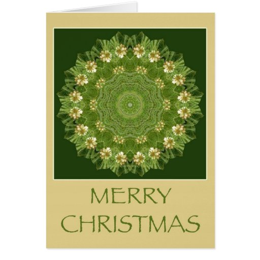 Kaleidoscope Kard for Christmas Greeting Cards