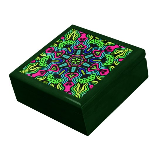 Kaleidoscope Keepsake Jewelry Gift Box