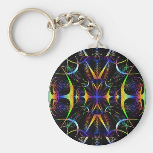Kaleidoscope Keychain