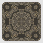 Kaleidoscope Kreations Black Tapestry 2 Square Sticker