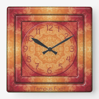 Kaleidoscope Kreations Brocade Tempus Fugit Clock