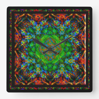Kaleidoscope Kreations Confusion Clock