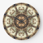 Kaleidoscope Kreations Cream Soda Clock
