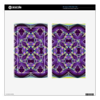Kaleidoscope Kreations Elektrik Sky No.1 Kindle Fire Skin