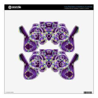 Kaleidoscope Kreations Elektrik Sky No.1 Skins For PS3 Controllers