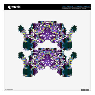 Kaleidoscope Kreations Elektrik Sky No.2 Skin For PS3 Controller