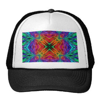 Kaleidoscope Kreations Flashing Fractal No1 Trucker Hat