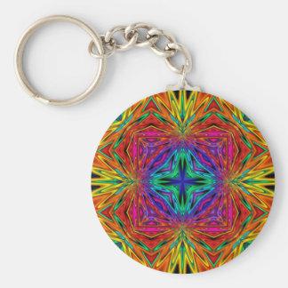 Kaleidoscope Kreations Flashing Fractal No2 Keychain