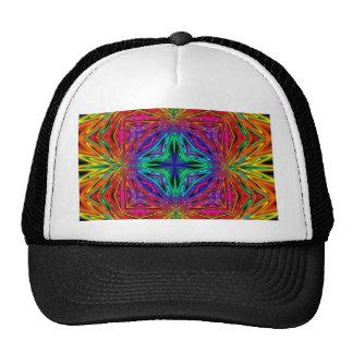 Kaleidoscope Kreations Flashing Fractal No2 Trucker Hat