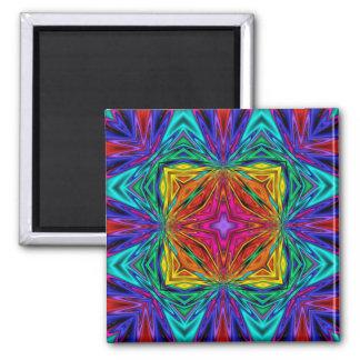 Kaleidoscope Kreations Flashing Fractal No3 Magnet