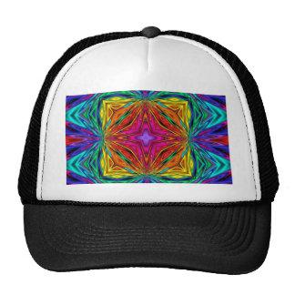 Kaleidoscope Kreations Flashing Fractal No3 Trucker Hat