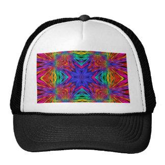 Kaleidoscope Kreations Flashing Fractal No4 Trucker Hat