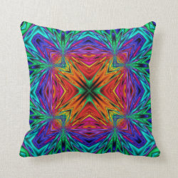Kaleidoscope Kreations Flashing Fractal Pillow No1