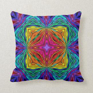Kaleidoscope Kreations Flashing Fractal Pillow No3