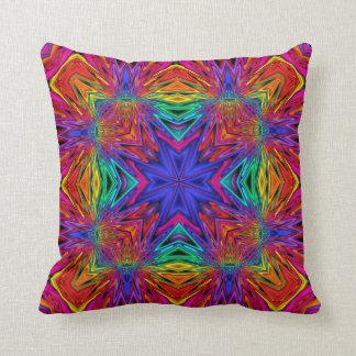 Kaleidoscope Kreations Flashing Fractal Pillow No4