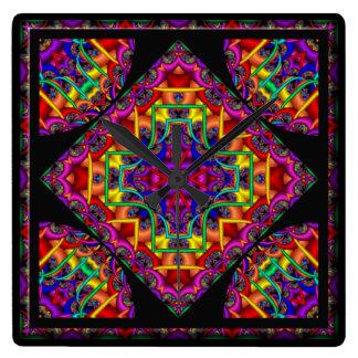 Kaleidoscope Kreations Fractal Fascination Clock