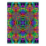 Kaleidoscope Kreations Fun Fractals No 2 Postcard
