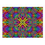 Kaleidoscope Kreations Fun Fractals No 4 Postcard