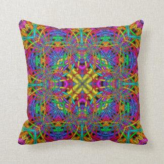 Kaleidoscope Kreations Fun Fractals Pillow No 4