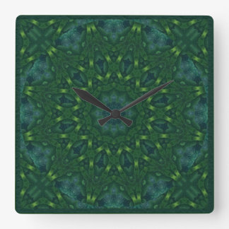 Kaleidoscope Kreations Green Velvet Clock