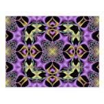 Kaleidoscope Kreations Lemon & Lilac No 1 Postcard