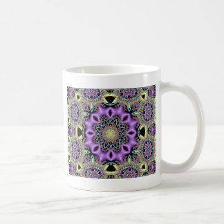 Kaleidoscope Kreations Lemon & Lilac No 3 Coffee Mug