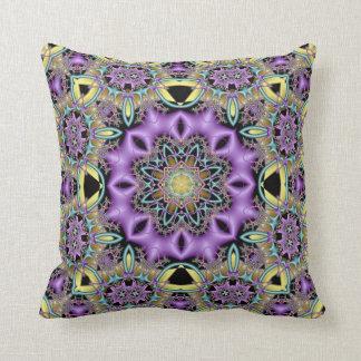 Kaleidoscope Kreations Lemon & Lilac Pillow No 2