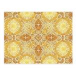 Kaleidoscope Kreations Lemon Tapestry 1 Postcard