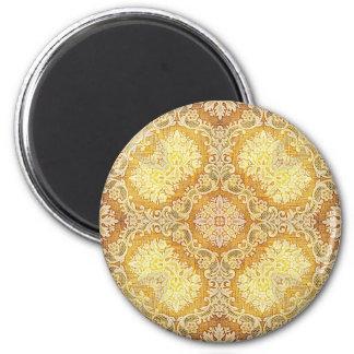 Kaleidoscope Kreations Lemon Tapestry 2 2 Inch Round Magnet