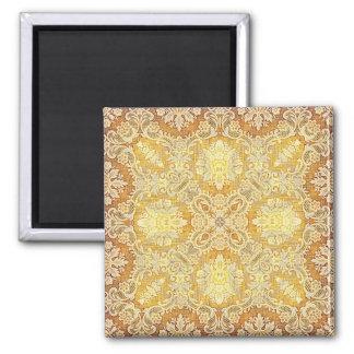 Kaleidoscope Kreations Lemon Tapestry 3 2 Inch Square Magnet
