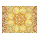 Kaleidoscope Kreations Lemon Tapestry 4 Postcard
