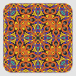 Kaleidoscope Kreations Mandarin Magic Square Sticker