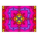 Kaleidoscope Kreations Neon No 2 Postcard
