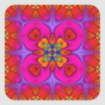 Kaleidoscope Kreations Neon No 4 Square Sticker