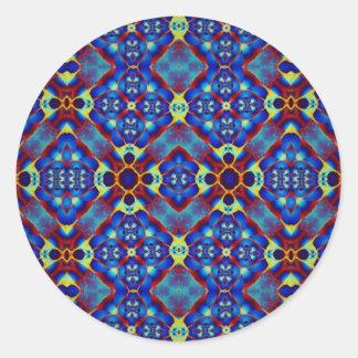 Kaleidoscope Kreations PE016 Stickers (Customise) Round Sticker