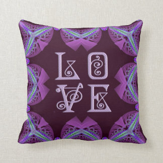 Kaleidoscope Kreations Plum Love Pillow