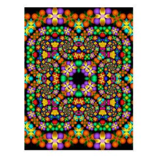 Kaleidoscope Kreations Precious Petals No 1 Postcard