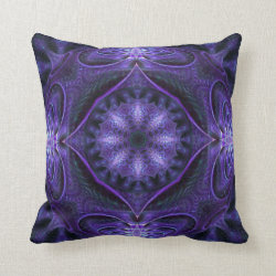 Kaleidoscope Kreations Purple Globe Pillow