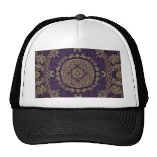 Kaleidoscope Kreations Purple & Gold 3 Trucker Hat