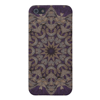Kaleidoscope Kreations Purple Tapestry 5 Cover For iPhone SE/5/5s