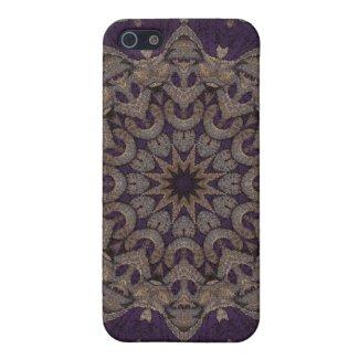 Kaleidoscope Kreations Purple Tapestry 5 iPhone 5 Case